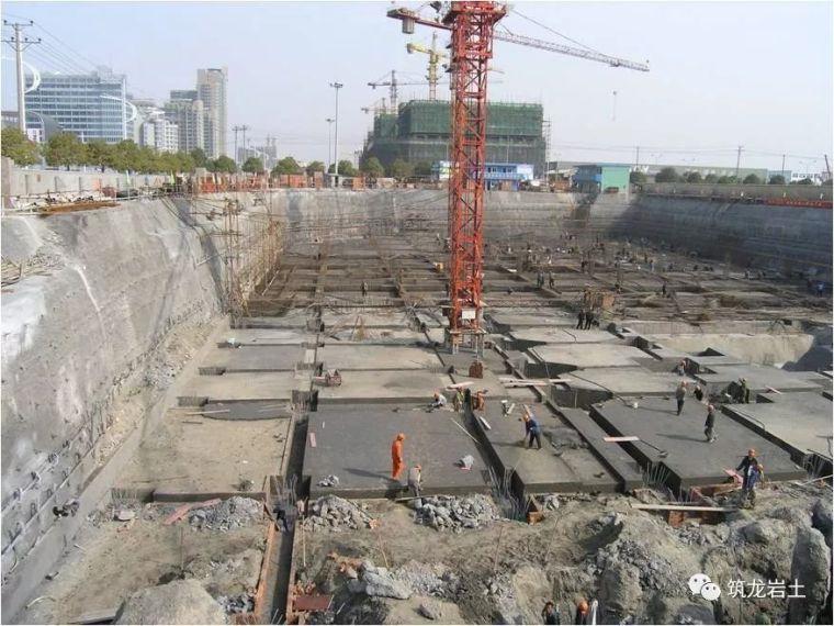 常见基坑支护结构形式,结构图及实景图解说_14