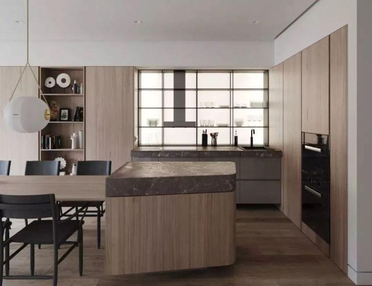 开放式厨房,可以怎么设计?_27