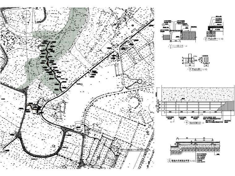某庄园旅游项目景观设计施工图2021年_7