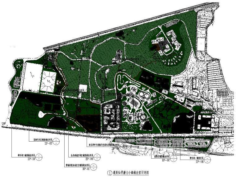 某庄园旅游项目景观设计施工图2021年_2