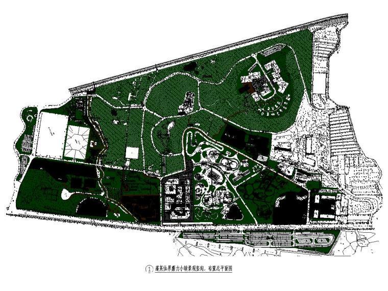 某庄园旅游项目景观设计施工图2021年_1