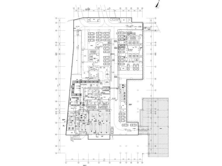 [贵州省]医院住院医技部暖通施工图2020_3