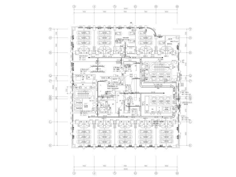 [贵州省]医院住院医技部暖通施工图2020_1