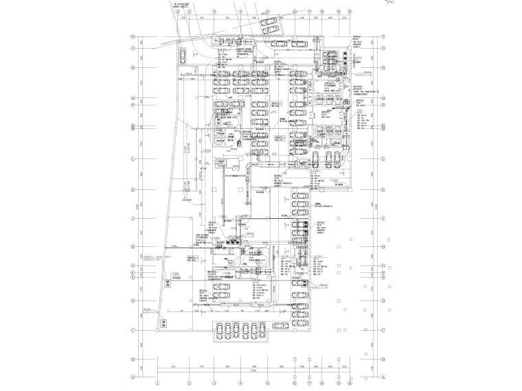 [贵州省]医院住院医技部暖通施工图2020_2