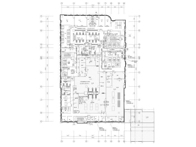 [贵州省]医院住院医技部暖通施工图2020_4