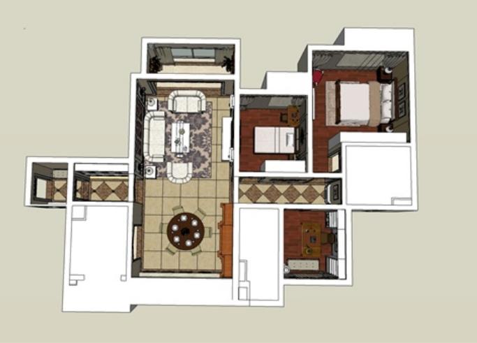 知名地产住宅户型空间模块产品手册(104页)_1