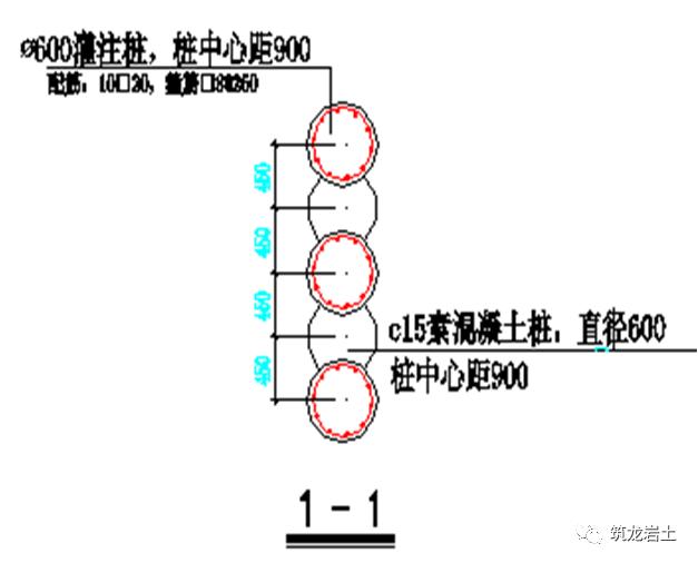 常见基坑支护结构形式,结构图及实景图解说_25