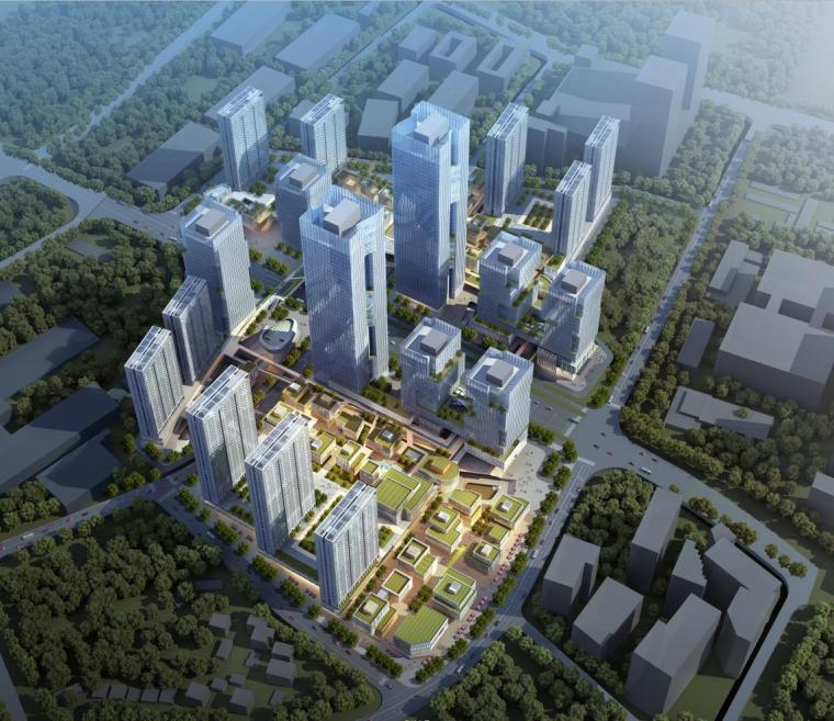 [深圳]高层办公+商业+公寓建筑设计PDF+SU_6