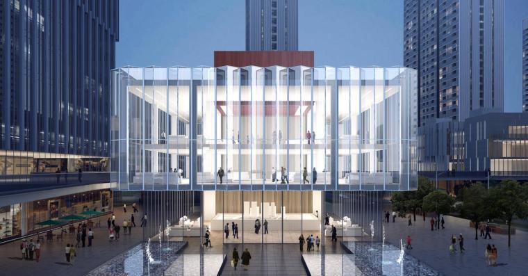 [深圳]高层办公+商业+公寓建筑设计PDF+SU_11
