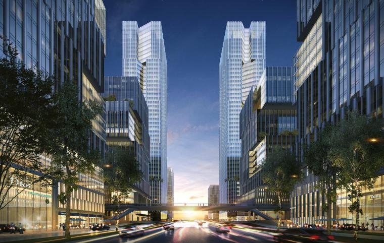 [深圳]高层办公+商业+公寓建筑设计PDF+SU_5