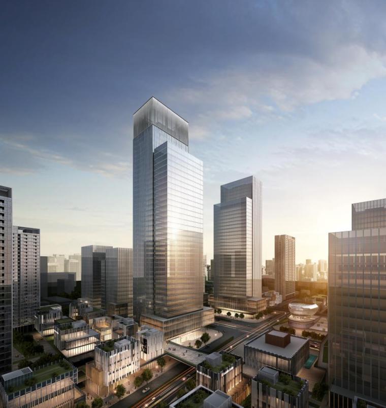 [深圳]高层办公+商业+公寓建筑设计PDF+SU_3