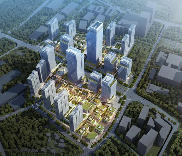 [深圳]高层办公+商业+公寓建筑设计PDF+SU_10
