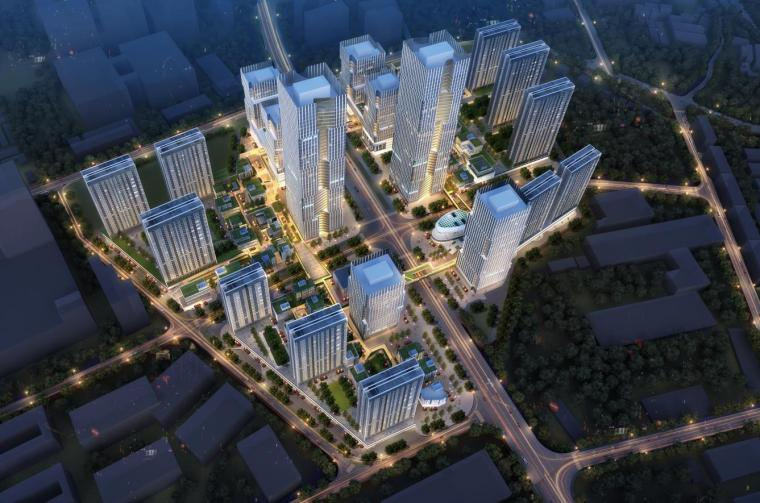 [深圳]高层办公+商业+公寓建筑设计PDF+SU_9