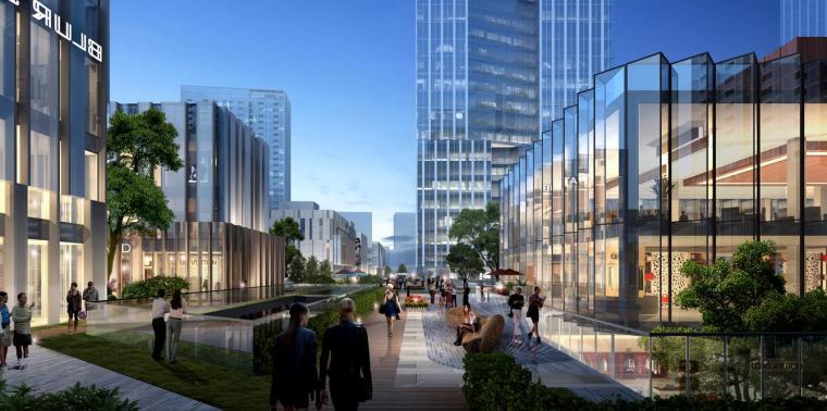 [深圳]高层办公+商业+公寓建筑设计PDF+SU_13