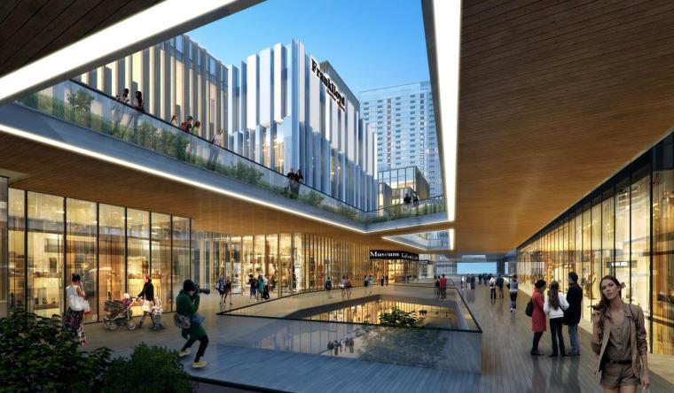 [深圳]高层办公+商业+公寓建筑设计PDF+SU_1