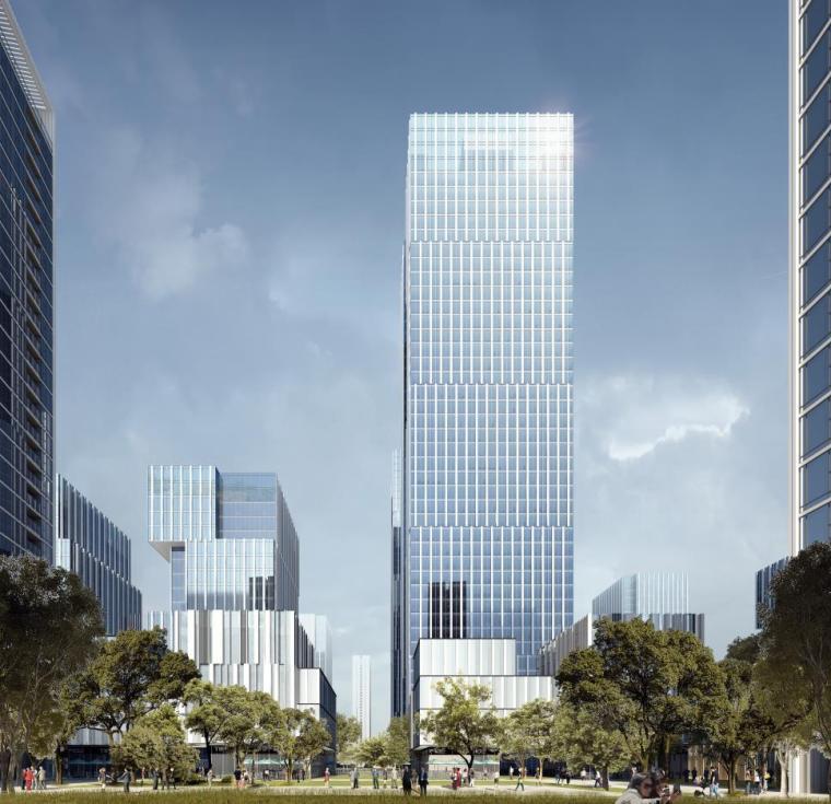 [深圳]高层办公+商业+公寓建筑设计PDF+SU_2