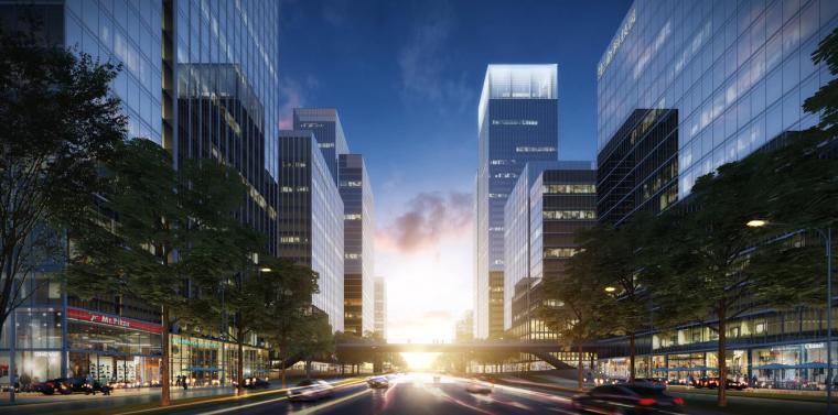 [深圳]高层办公+商业+公寓建筑设计PDF+SU_4