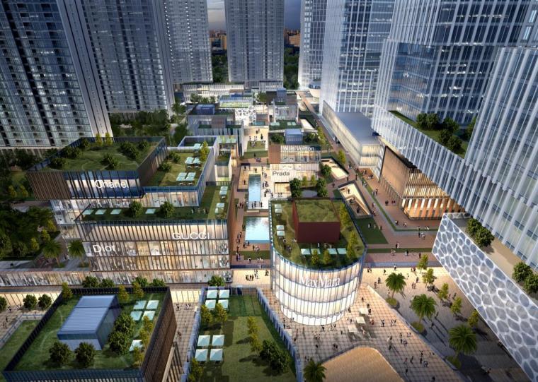 [深圳]高层办公+商业+公寓建筑设计PDF+SU_7