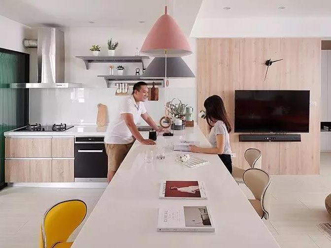 开放式厨房,可以怎么设计?_1