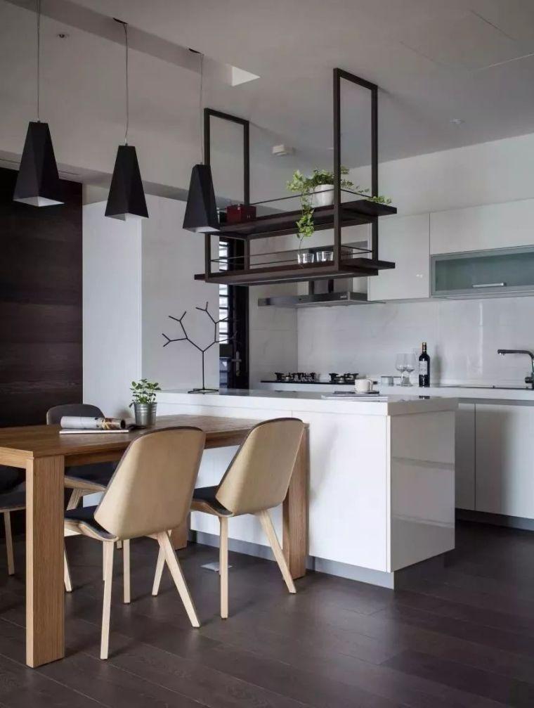 开放式厨房,可以怎么设计?_35