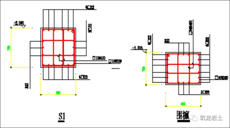 常见基坑支护结构形式,结构图及实景图解说_40