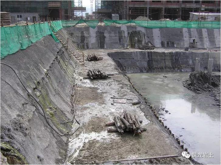常见基坑支护结构形式,结构图及实景图解说_8