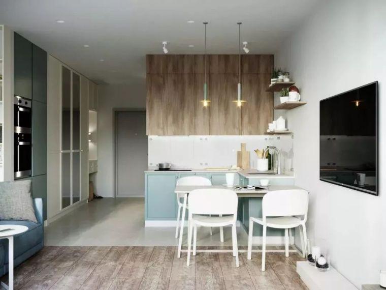 开放式厨房,可以怎么设计?_3
