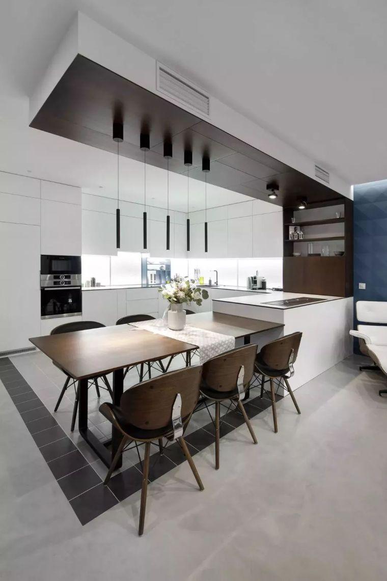 开放式厨房,可以怎么设计?_9