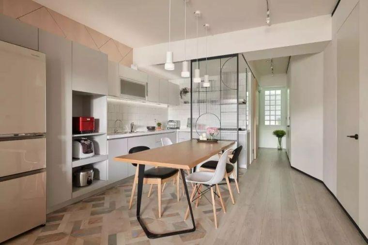 开放式厨房,可以怎么设计?_12
