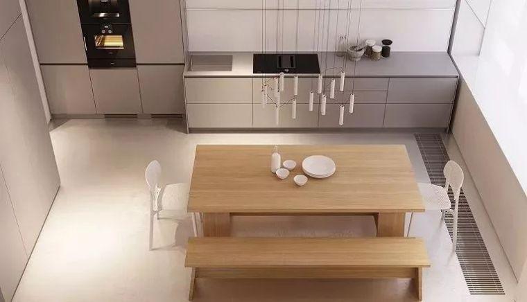 开放式厨房,可以怎么设计?_13