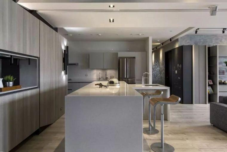 开放式厨房,可以怎么设计?_15