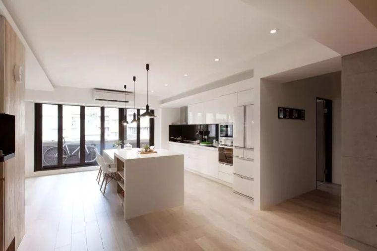 开放式厨房,可以怎么设计?_16