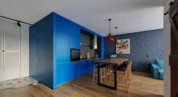 开放式厨房,可以怎么设计?_17
