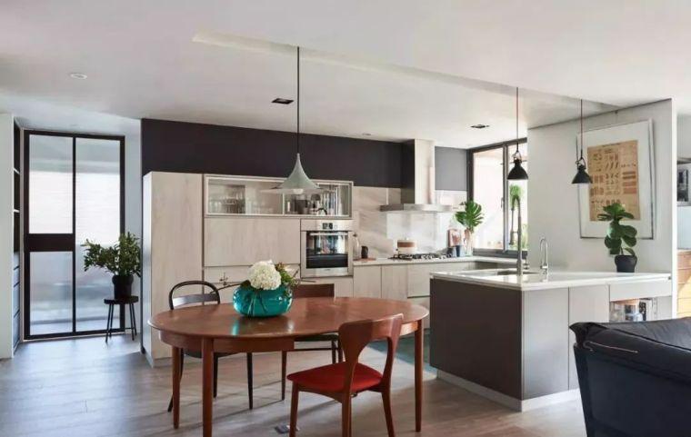 开放式厨房,可以怎么设计?_25