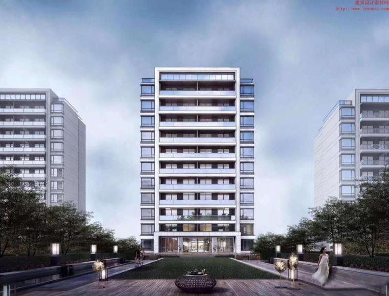 [广东]高层+洋房+示范区居住区规划设计文本_7
