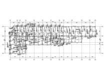 [厦门]38层剪力墙结构住宅结构施工图附建筑