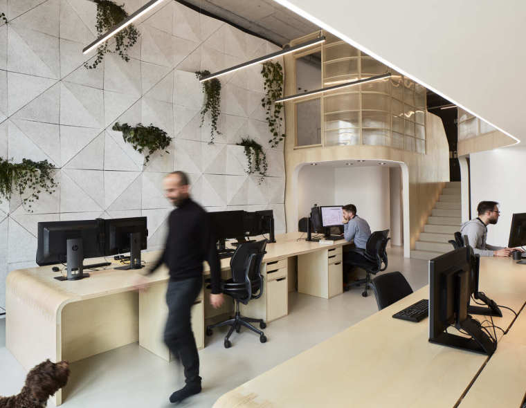 英国情景建筑的新办公室_6