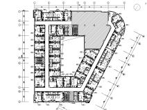 [山东]亚朵酒店高新天辰店室内施工图设计