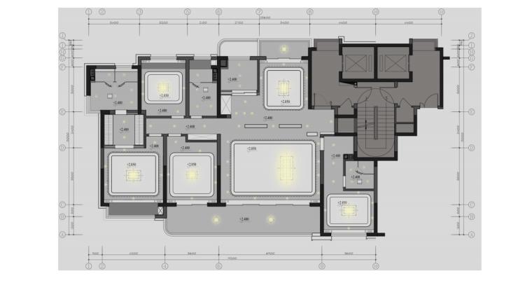 [江苏]未来科技生态复合新城住宅样板房方案_12