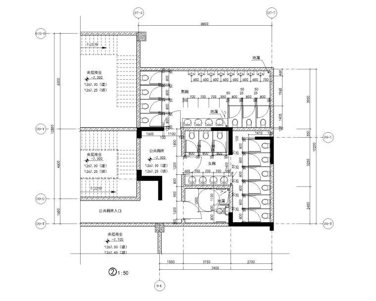 [贵州]12号楼地下室及商业部分建筑施工图_7
