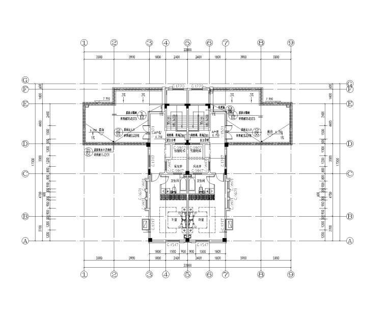 [贵州]大型商业建筑群砂岩建筑施工图_4