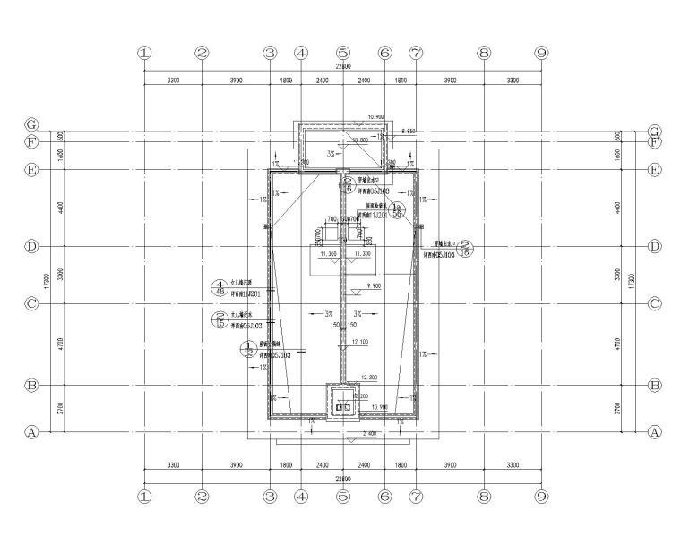[贵州]大型商业建筑群砂岩建筑施工图_5