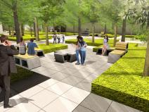 现代风公共空间米酷景观方案深化设计