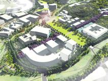 [广东]现代化南方科技大学校园景观方案设计