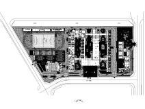 [海南]某社区配套学校项目景观施工图2021年