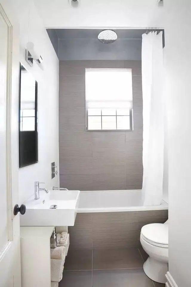 卫生间设计的合理,空间就可能会增加多多_4