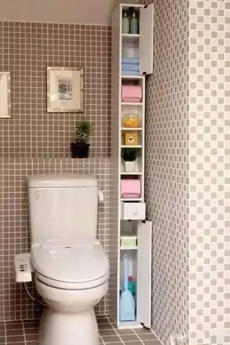卫生间设计的合理,空间就可能会增加多多_5