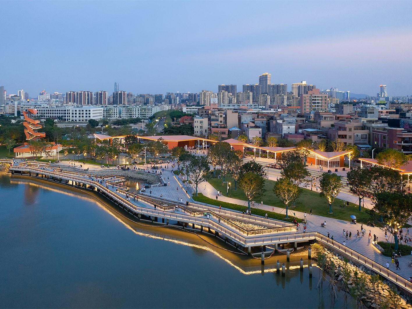 东莞龙湾生态湿地公园