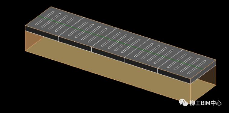 Revit如何绘制带盖板的排水沟族_9