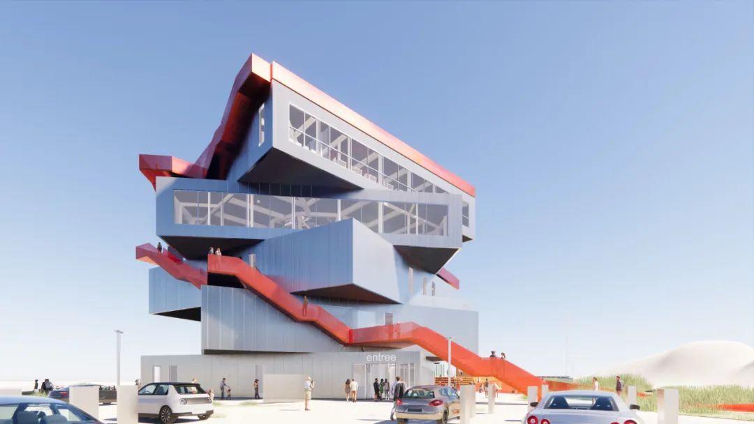 MVRDV'鹿特丹港体验中心'